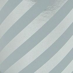 Foil Gift Wrap - Silver Stripe