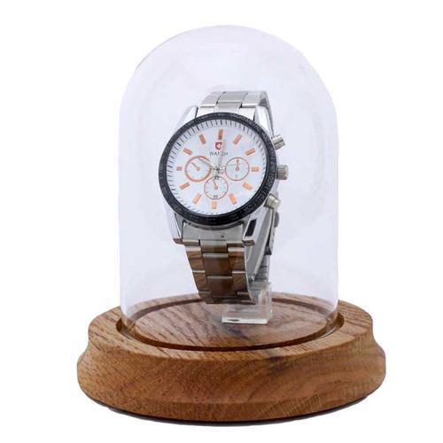 """Glass Wristwatch Display Dome, 3"""" x 4 1/4"""""""