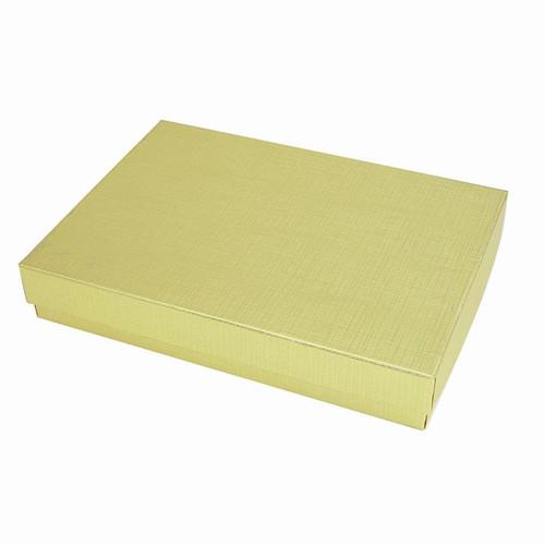 Gold foil jewelery box