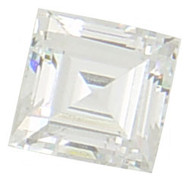 Square Step Cut CZ