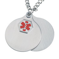 Stainless Steel Medical Pendant