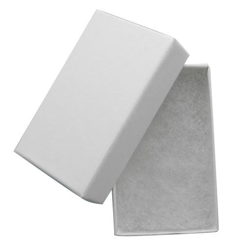 Cotton filled jewelry box