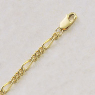 Yellow Gold Filled Women's Charm Bracelet