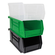 "Plastic Organizer Bins - 7.5"" Long"