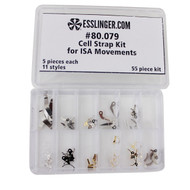 Quartz Cell Strap Kit for Isa Watch Movements 55 Pieces