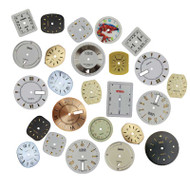 Watch Face Dials Assortment 25 Pieces