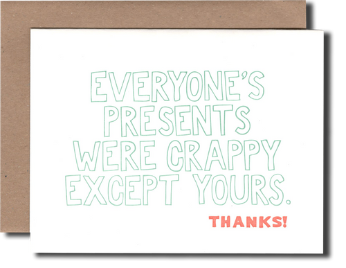 Crappy Presents