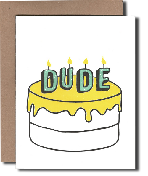 Dude Cake