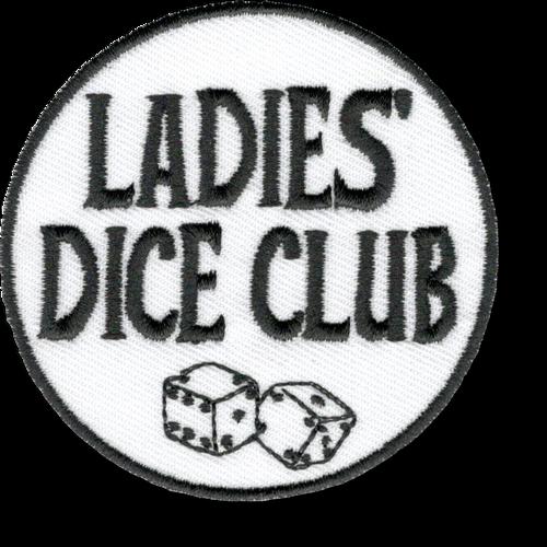 Ladies Dice Club Patch