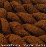 Sea Oak, I just love the richness of this elegant muted gold, color A in the Seaweed color series, semi-solid. Goes well with teals, purple & reds.