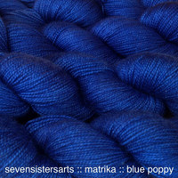 Matrika Blue Poppy