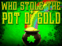 Who Stole the Pot O'Gold St. Patrick's Day mystery game