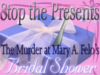 Bridal murder mystery party game