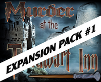 Toadwart Inn mystery party expansion pack