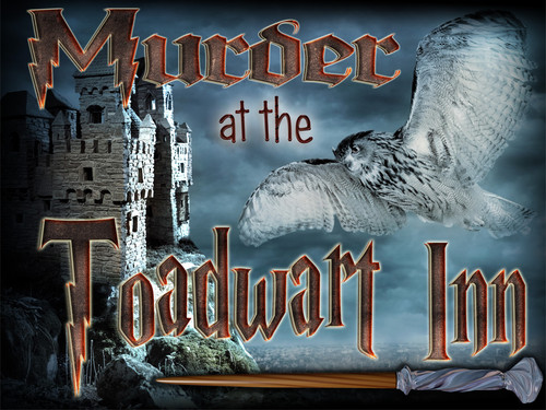 Witch and wizard murder mystery party game