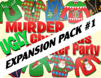 Ugly Christmas Sweater murder mystery expansion pack