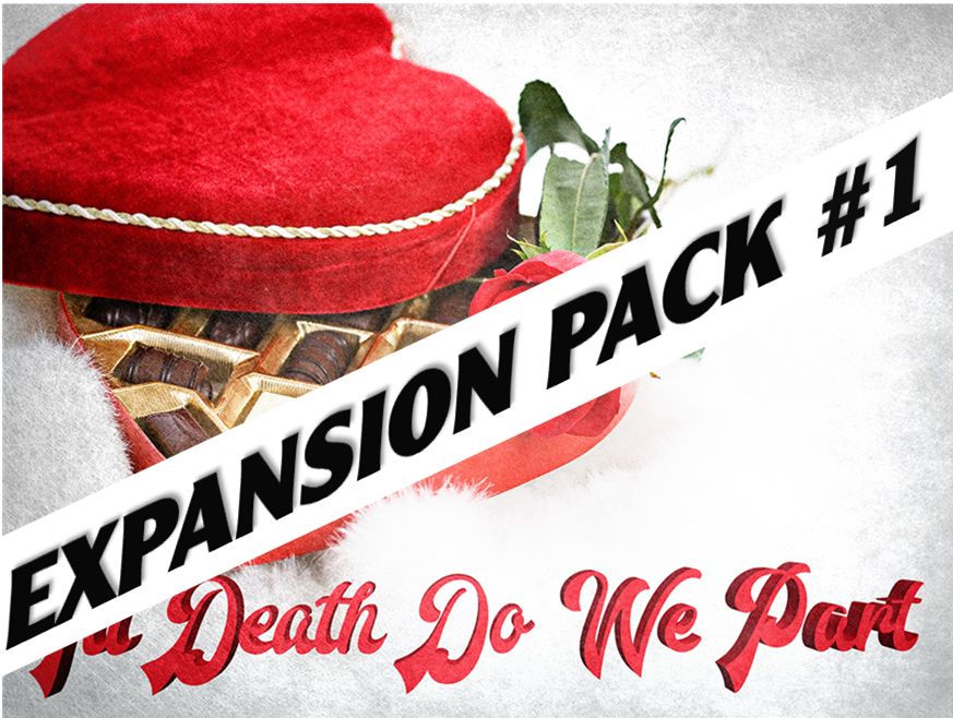 Valentine's Day murder mystery expansion pack #1