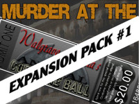 Walgrave Astoria costume ball murder mystery expansion pack