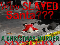 Who Slayed Santa murder mystery party
