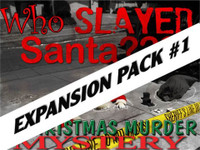 Who slayed Santa? Christmas mystery party expansion pack