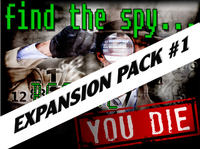 Find the Spy Before You Die Expansion Pack #1