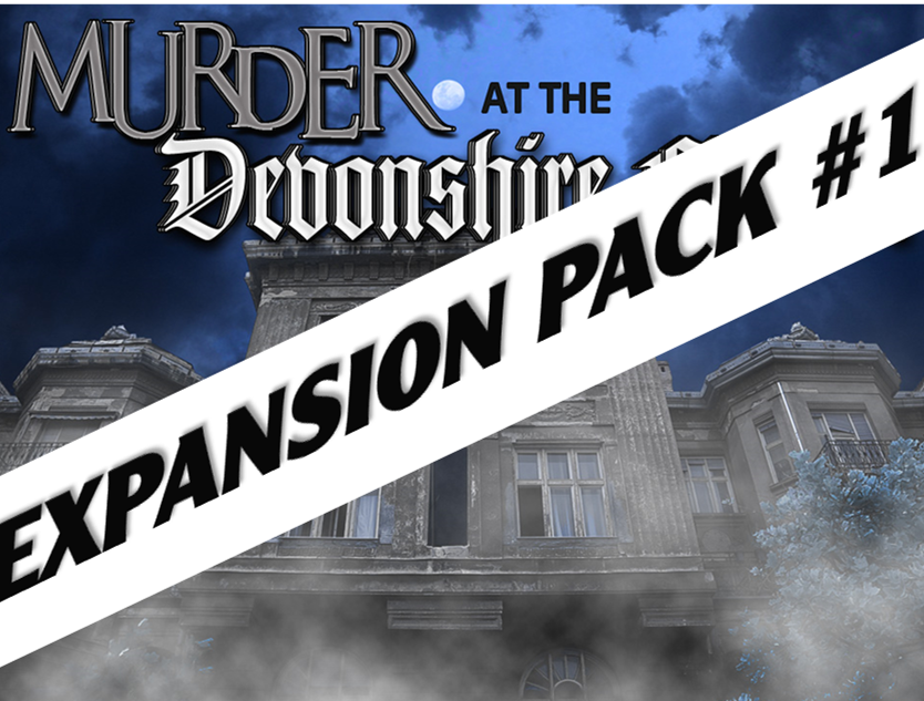 Devonshire Manor murder mystery party expansion pack