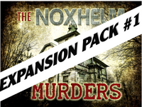 Noxhelm Murders mystery party game expansion pack #1