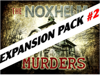 Noxhelm murders mystery party game expansion pack #2