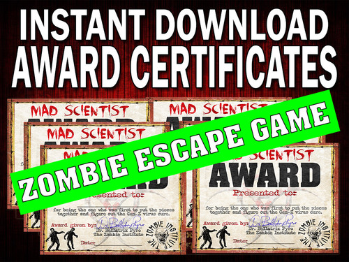 Zombie Escape Downloaded Awards
