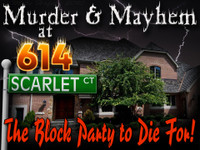 614 Scarlet Court mystery party game