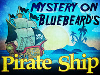 Kid's pirate mystery party game