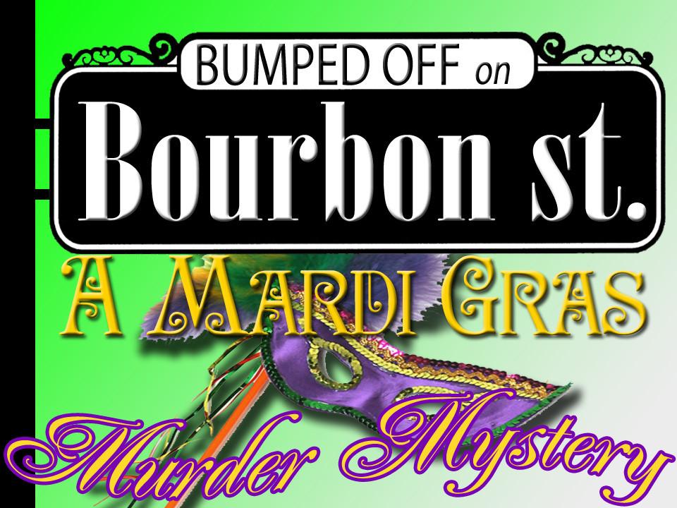 Bourbon Street Mardi Gras murder mystery boxed set