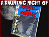 Daunting Night of Monsters and Murder mystery party game