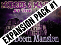 Doom Mansion murder mystery expansion