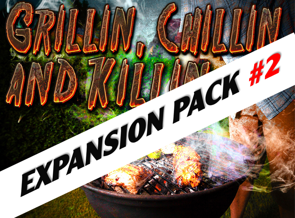 Expansion pack #2 for the summer mystery party game