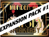 Grand Gatsby mystery party for expansion pack #1