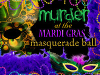 Mardi gras murder mystery party game