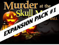 Skull Manor mystery party expansion pack #1