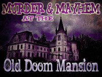 Doom Mansion murder mystery game