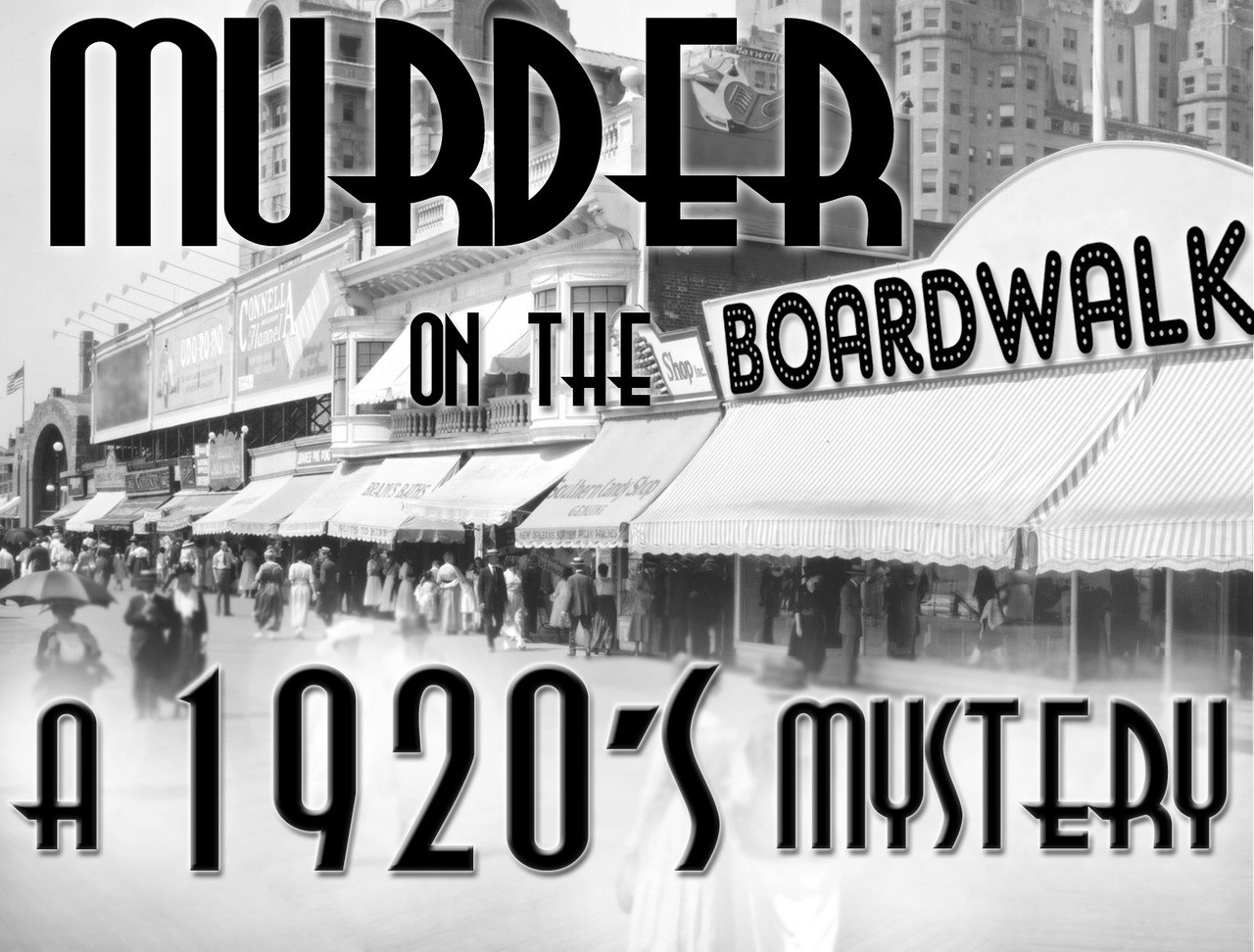 1920s mystery party on the Boardwalk