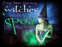 Witch mystery party