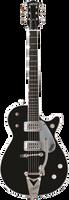 GRETSCH  G6128T DUO JET ELECTRIC GUITAR EBONY Guitar World AUSTRALIA Ph 07 55962588