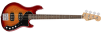 Fender Deluxe Dimension Bass, Rosewood Fingerboard, Aged Cherry Burst