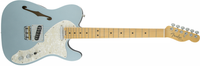 Fender American Eilte Telecaster Thinline, Maple Fingerboard, Mystic Ice Blue