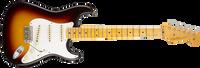 Fender 1958 Journeyman Relic Stratocaster, Maple Fingerboard, Chocolate 3-Color Sunburst