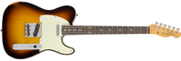 Fender 1962 Relic Telecaster Custom, Rosewood Fingerboard, Faded 3-Color Sunburst