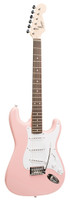 FENDER SQUIER BULLET STRAT WITH TREMOLO, PINK Guitar World AUSTRALIA PH 07 55962588