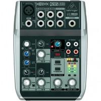Behringer Q502USB 5-input mixer with USB