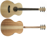 Cole Clark Angel 1 AN1E-BM No Cutaway Bunya Face Queensland Maple back & sides 2 way pickup