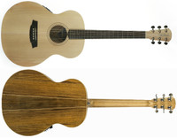 Cole Clark Angel 1 AN1E-BB No Cutaway Bunya Face Tasmanian Blackwood back & sides 2 way pickup